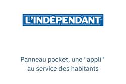 """Panneau pocket, une """"appli"""" au service d"""