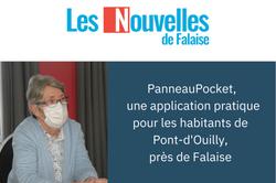 PanneauPocket, une application pratique pour les habitants de Pont-d'Ouilly, près de Falaise