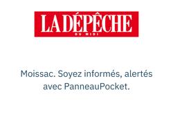 Moissac. Soyez informés, alertés avec PanneauPocket.