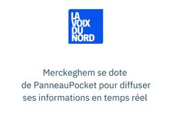 Merckeghem se dote de PanneauPocket pour diffuser ses informations en temps réel
