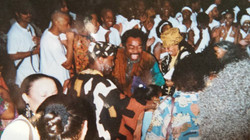 CT (Dancing) at Nzinga and Ndugu Ceremon