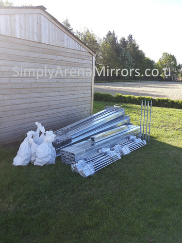 Installation kit for 16 mirrors