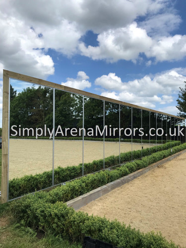 Installation by James Rogers Equestrian Construction