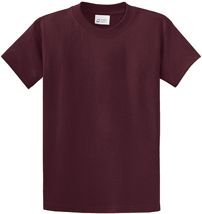 PC - Essential Tee - Athletic Maroon