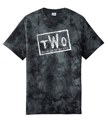 Taco - tWo Tshirt - Black Tie Dye