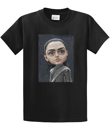 Dan Springer - Arya Stark Art - T-shirt