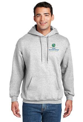 FSG Logo - Hooded Sweatshirt - Ash