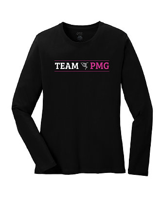 PMG - Team Shirt - Long Sleeve - Ladies Cut