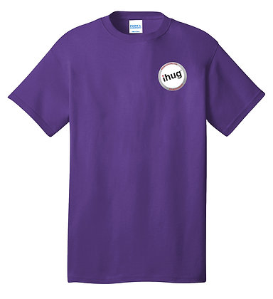 iHug Logo - Tshirt - Team Purple