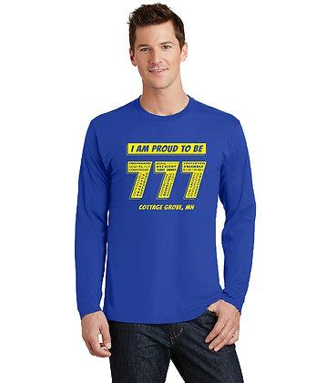 Proud 777 - Adult Long Sleeve T-shirt - True Royal