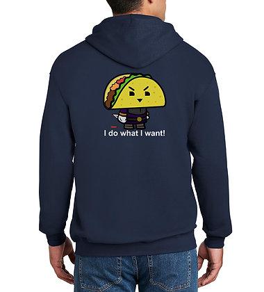 Taco - Zip-Up Hoodie - Navy
