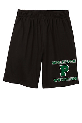 Wolfpack Wrestling Shorts - Black