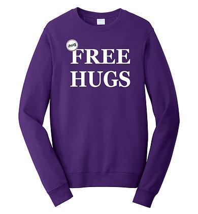 iHug Free Hugs - Sweatshirt - Team Purple