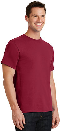 PC - Essential Tee - Rich Red