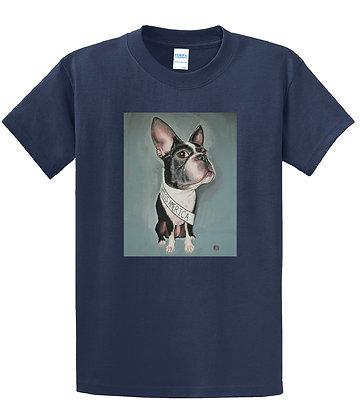 Dan Springer - Boston Terrier Art - T-shirt