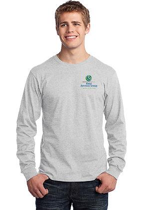 FSG Logo - Long Sleeve Tshirt - Ash