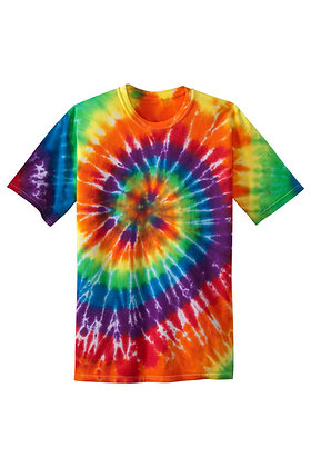 PC - Youth Tie-Dye Tee - Rainbow