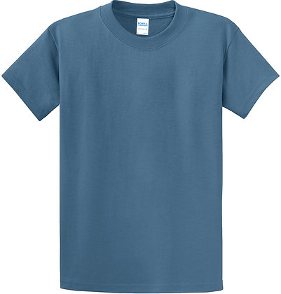 PC - Essential Tee - Colonial Blue