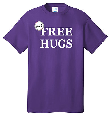 iHug Free Hugs - Tshirt - Team Purple