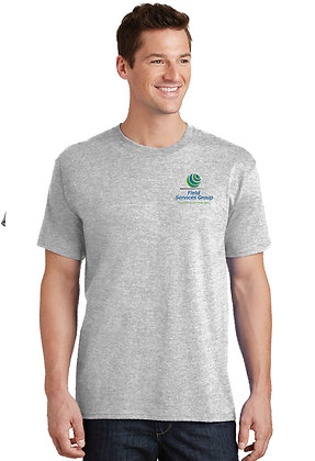 FSG Logo - Tshirt - Ash