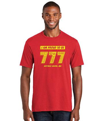 Proud 777 - Adult T-shirt - True Royal