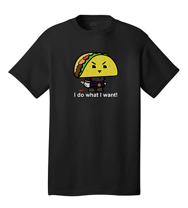 Taco - Tshirt - Black
