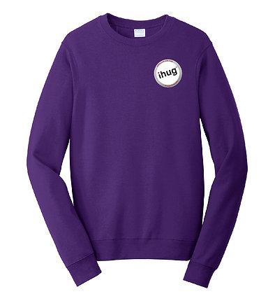 iHug Logo - Sweatshirt - Team Purple