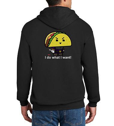 Taco - Zip-Up Hoodie - Black