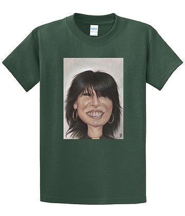 Dan Springer - Chrissie Hynde Art - T-shirt