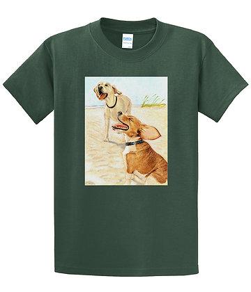 Dan Springer - Dog Art B - T-shirt