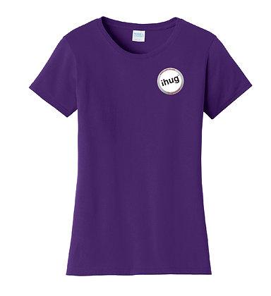 iHug Logo - Women's Tshirt - Team Purple