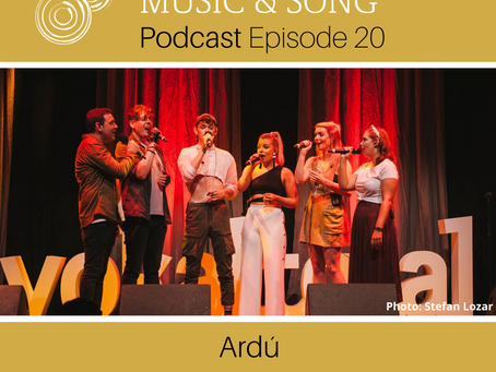 Podcast Episode 20 - Ardú (Guest Artist)
