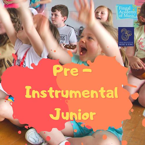 Pre-instrumental JUNIOR
