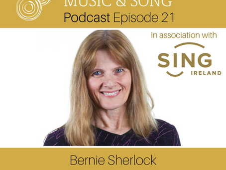 Podcast Episode 21: Bernie Sherlock - Choral Series #3