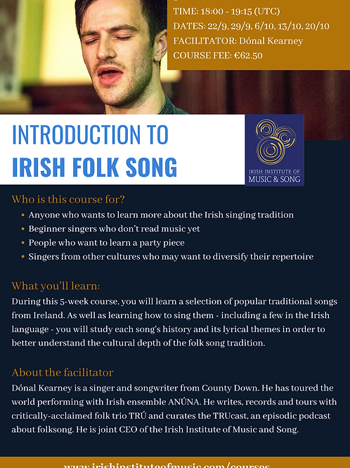 Introduction to Irish Folksong