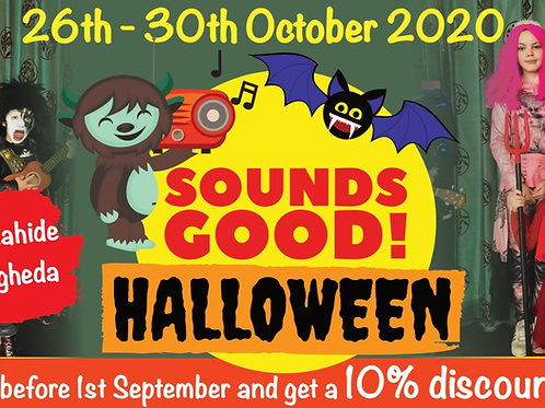 Sounds Good! Halloween Camp (2 Siblings)