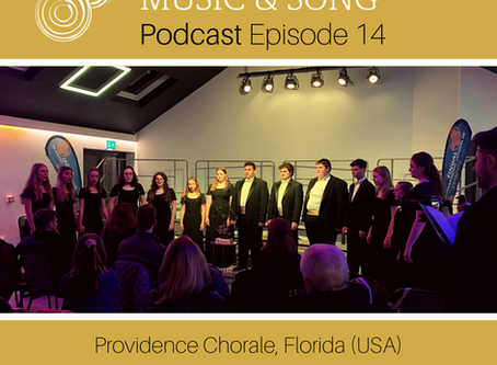 Podcast Episode 14 - Providence Chorale, USA