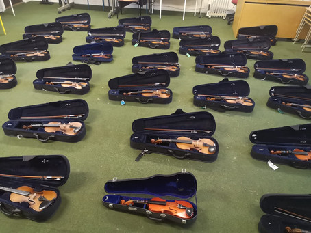 Violins & Fiddles in more Fingal schools