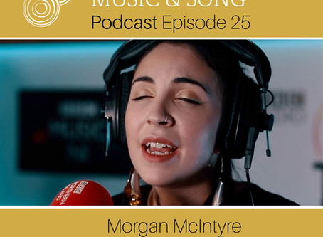 Episode 26 - Morgan McIntyre (Saint Sister) - Song Series #4