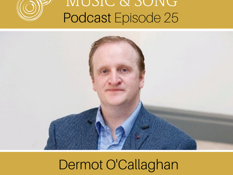 Episode 25: Dermot O'Callaghan - CEO of Sing Ireland