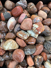 Maroon Pebbles