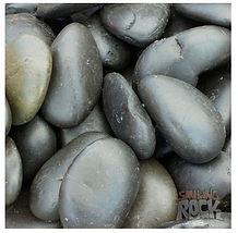 Black Smooth Pebbles