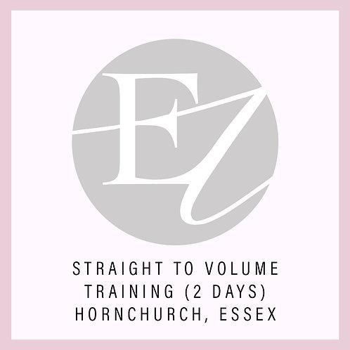 Straight To Volume Training With Nikki Hornchurch, Essex