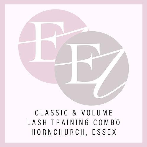 Classic & Volume Combo Training With Nikki Hornchurch, Essex