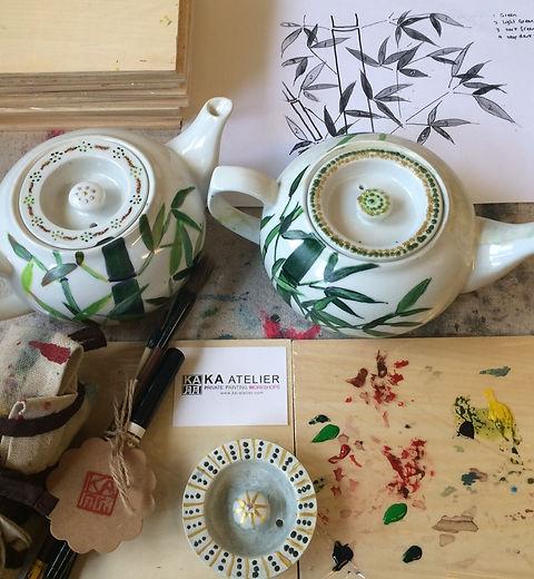Chinese Teapot Paintng Artworkshops in Hong Kong