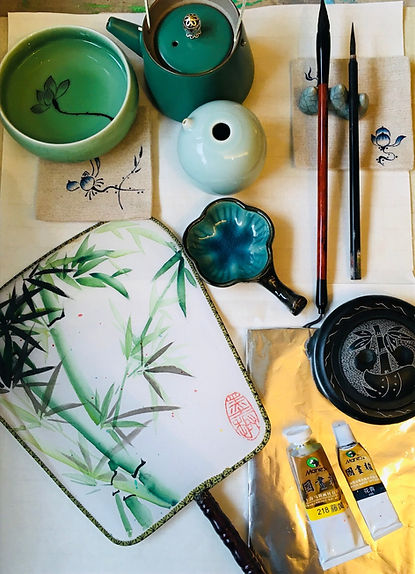 Chinese Fan Painting KA Atelier