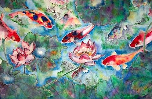 Western Acrylic/ Watercolor Painting Beginners - Regular Classes