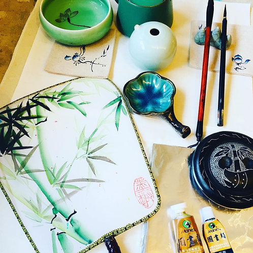Chinese Fan Painting One-Off Workshop