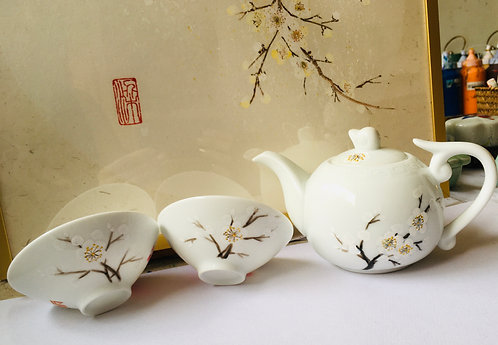 Chinese Tea Set Painting- One- off Workshop