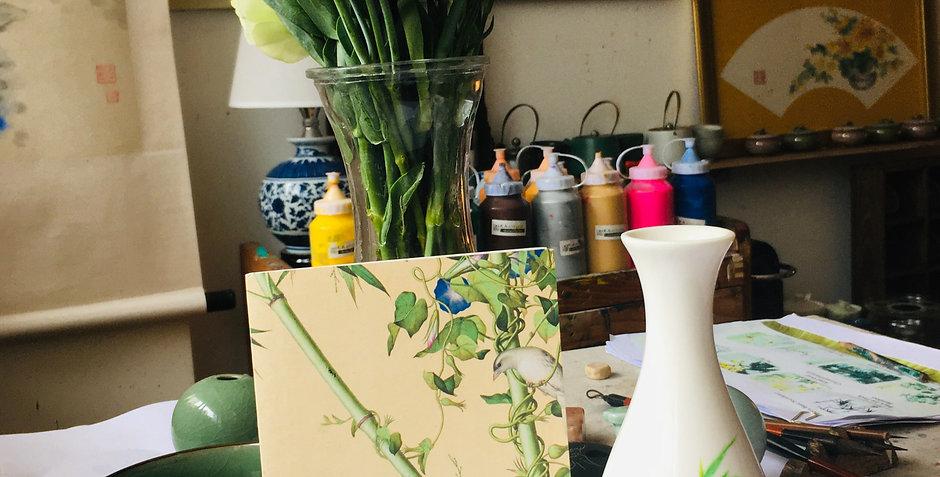 Chinese Ceramic Vase Painting Workshop | One- Off
